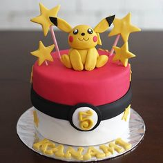 "21 Likes, 1 Comments - meforu bakery & cafe (@meforubakery) on Instagram: ""Pika pika....pikachuuuu... #pokemoncake #pokemon #pikachu #pikachucake #meforucake #birthdaycake…"""