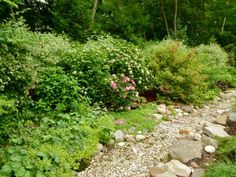 Some great ideas on how to include the natural landscape into a yard...