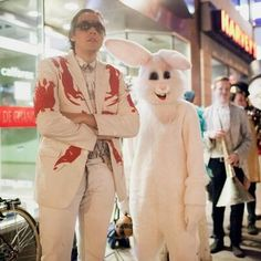 """Arcade Fire ask that you wear """"formal attire or a costume"""" to their summer tour Win Butler, Album Stream, Now Magazine, Arcade Fire, Steve Martin, Bunny Outfit, After Hours, New Tricks, Dress Codes"""