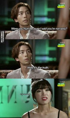 lmao!! So blunt! Love his character in this drama. Trot Lovers