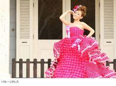 WORKS【Balloon Dress Feuce】   Balloon Artist FUMICO Official Site バルーンアーティスト FUMICO 公式サイト