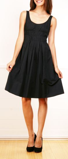 VINCE DRESS - so feminine, love the pleating http://shop-hers.com/products/11751-sweettooth-vince-dress?medium=HardPin=Pinterest=type359=hardpin_type359