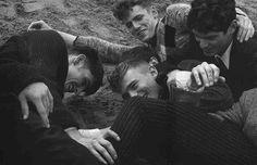 smittenstephen: Alexander Beck, Tom Webb, Arthur Gosse and Bo Develius by Jean-Baptiste Mondino for Numero Homme #28