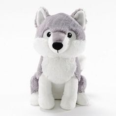 Mercer Meyers Little Critters Wolf Kohls for Kids. Stuffed plush wolf that is a great gift for kids! Wolf Stuffed Animal, Cute Stuffed Animals, Akita Puppies, Husky Puppy, Axolotl, Pusheen, Totoro, Octopus, Wolf Plush
