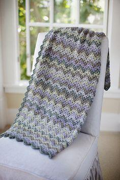 Vintage Crocheted Throw & Afghan Pattern