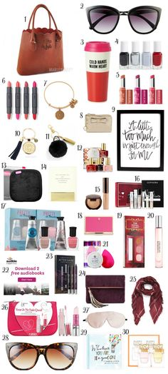 The best Christmas gift ideas for women under $30! You won't want to miss this adorable Christmas gift guide for women created by Florida beauty and fashion blogger Ashley Brooke Nicholas. She's guaranteed to love every affordable Christmas gift idea on this list! Christmas gifts, gifts, gift ideas, gifts for women, affordable Christmas gift ideas