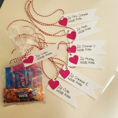 DIY Tags for Classroom Valentines