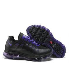 Nike Air Max 95 Womens Black Purple Trainer
