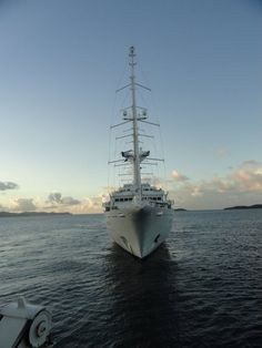 Wind Spirit, February 2011. Photo by Kathie and Tim P.   Windstar Cruise http://www.windstarcruises.com/