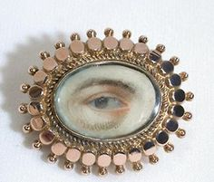 Antique Lover's Eye Brooch - The Three Graces