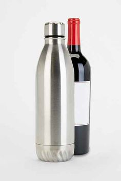 Stainless Steel Wine Canteen $34 | Earn Cashback when you shop at UrbanOutfitters.com! Sign up with DubLi for FREE at www.downrightdealz.net and GET PAID for all your online shopping!
