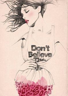 Ilustración de moda.
