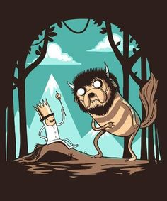 Where The Wild Things Are / Adventure Time
