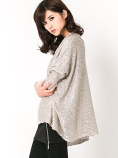 Sequin Pocket Knit Sweater $32.00