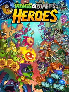 We tried Plants vs. Zombies Heroes for and here's a first look Arte Zombie, Zombie 2, Zombie Wallpaper, Hero Wallpaper, Hero Games, Fun Games, Awesome Games, Plantas Versus Zombies, P Vs Z