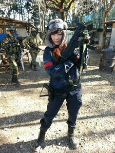 Airsoft, Survival, Girls, Little Girls, Daughters, Maids