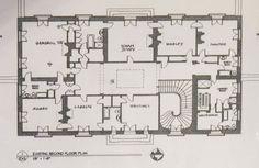 Vernon Court second floor plan.