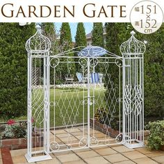 Iron Furniture, Steel Furniture, Outdoor Rooms, Outdoor Living, Garden Gates And Fencing, Horseshoe Projects, Iron Gate Design, Castle Wall, Church Architecture