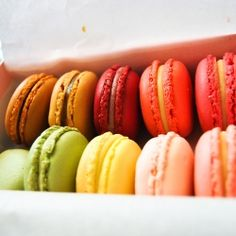 The look of the macarons here are like chapters from a fairy tale, with soft baby hues, vibrant splashes of fruity colour...