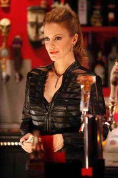 Pam on True Blood wearing #SCAD alum Elizabeth Thompson scorpion tail earrings + necklace @shopSCAD