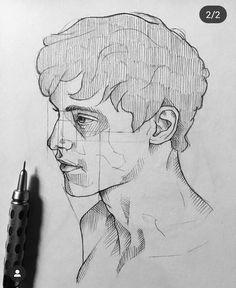 Pencil Art Drawings, Realistic Drawings, Art Drawings Sketches, Cool Drawings, Art Inspiration Drawing, Art Inspo, Drawing Ideas, People Art, Art Challenge