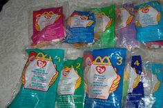 Lot of 12~ 1999 Teenie Beanie Babies