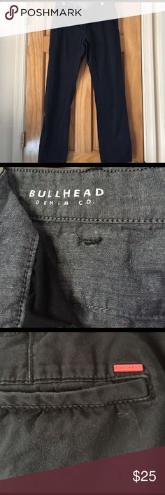 Bullhead Jeans Preowned and in great condition. Navy Blue in Color. Men's BullHead jeans. Skinny. W31 L32 Bullhead Jeans Skinny