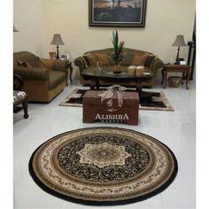Kediaman Customer (Kak Nevi di Banda Aceh) Karpet bulat ukuran 200cm*200cm Tipe Diamond 3027A Carpet, Contemporary, Rugs, Home Decor, Farmhouse Rugs, Decoration Home, Room Decor, Rug, Floor Rugs
