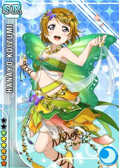 #798 Koizumi Hanayo SR idolized