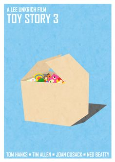Toy Story 3 minimalist movie poster.... I find this very depressing....