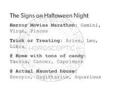 Scorpio~~ Haunted house marathon