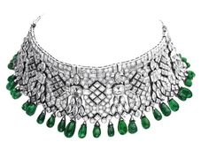 Diamonds and Emeralds by Van Cleef and Arpels
