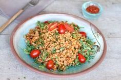 Warmer days are here to stay and this salad has the advantage of being hearty yet light and suitable for warm weather. It is a simplified version of what the Armenian community in Lebanon introduce…
