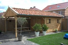 tuinhuisje met veranda - Google zoeken