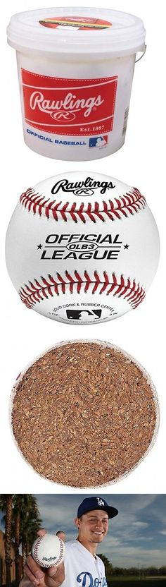 Baseballs 73893: Rawlings Bucket With 2 Dozen Olb3 Baseballs -> BUY IT NOW ONLY: $44.92 on eBay!