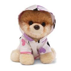Brinquedo Gund 5 Itty Bitty Boo Dressed in Heart Hoodie Plush #Brinquedo #Gund