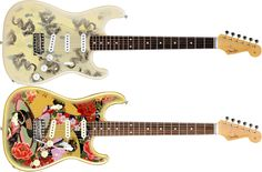 Dragons. Japanese theme. from Fender Japan, ST62-SPL