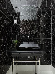 geometric black tile // Greg Natale