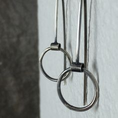 That perfect pair of silver hoops that go with everything.