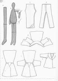 free patterns for tilda dolls - Google Search