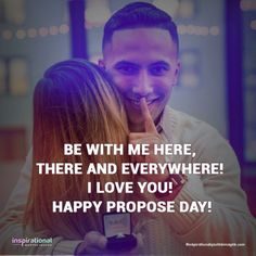 Here are some propose Day images, messages and quotes you can share with your girlfriend or boyfriend on February. Happy Propose Day Quotes, Propose Day Images, Happy Life Quotes, Valentine's Day Quotes, Morning Quotes, Love Quotes For Gf, Inspirational Quotes With Images, Quotes For Him, Quote Of The Day
