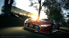 Photographs of the 2013 Mercedes-Benz AMG Vision Gran Turismo Concept. An image gallery of the 2013 Mercedes-Benz AMG Vision Gran Turismo Concept. Mercedes Benz Amg, New Mercedes, Playstation, Super Sport Cars, Super Cars, Love Trailer, Mercedes Benz Wallpaper, Auto Motor Sport, Cheap Cars