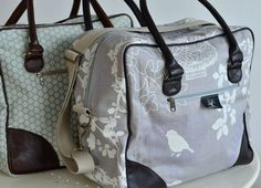 Square overnight bag - Peppertree