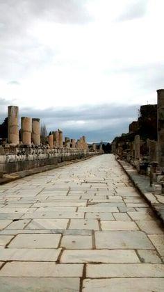 The Marble road, Ephesus.