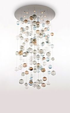 glass bubble chandelier u2013 thefind - Bubble Chandelier