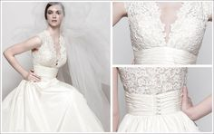 Elegant photos of wedding dresses with pockets and sleeves