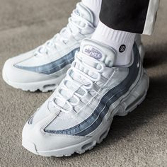 super popular d9ea0 16393 Nike Air Max 95 Essential   Pure Platinum Slate   Mens Trainers  749766-
