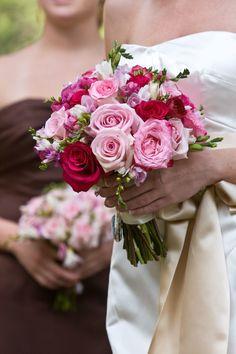 Oh how I miss Allburns...pink wedding bouquet