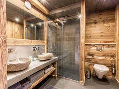Les 57 meilleures images de salle de bains chalet | Deco ...