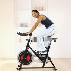 """This is an anaerobic bicycle exercise that works on """"sprinting"""" with a bicycle or doing short bursts of work then resting."""